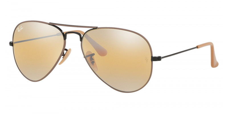 RB3025 AVIATOR LARGE METAL 9153AG