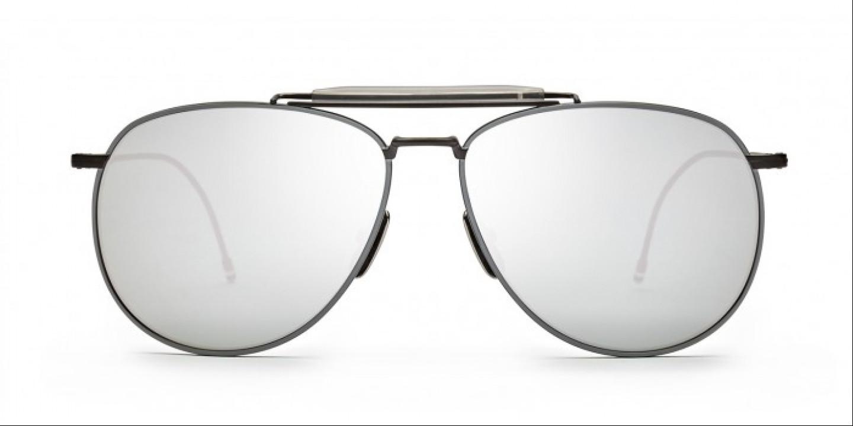 dbf07d17540 Sunglasses THOM BROWNE TB 015 BLK GRY