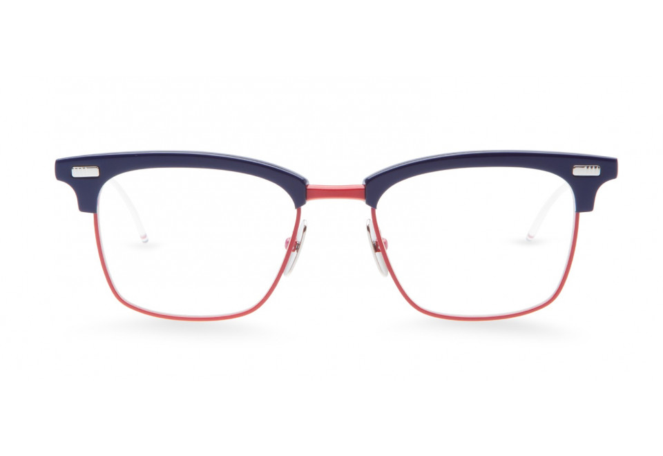 THOM BROWNE TB711 NVY/RED/WHT optical