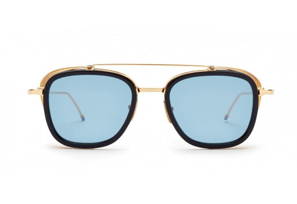 3f8de5e7b854 Sunglasses THOM BROWNE TB 808 NVY GLD